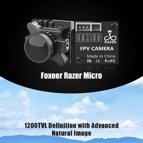 Foto Produk Foxeer Razer Micro 1200TVL FPV Camera PAL NTSC Switchable - Ratio 16:9 dari DooFPV