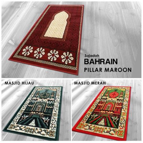 Foto Produk [Carpet Shop ID] Sajadah Medinah IMAM 60X120 - MASJID MERAH dari Carpet Shop Indonesia