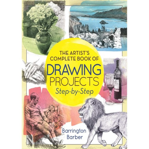 Foto Produk The Artist's Complete Book of Drawing Projects Step-by-Step dari Lemari Hobi