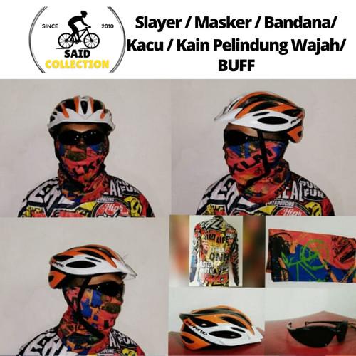 Foto Produk Slayer / Masker / Bandana/ Kacu / Kain Pelindung Wajah dari Said Colletion