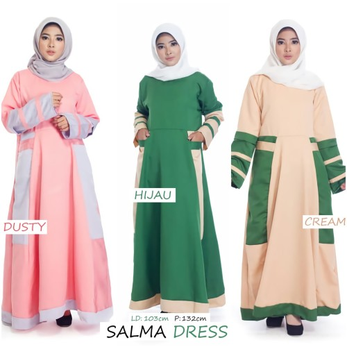 Foto Produk DPCPL-122 SALMA DRESS dari ina94olshop