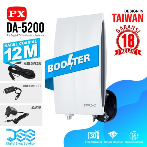 Foto Produk ANTENA TV Digital Indoor/outdoor PX DA-5200 dari Digital Shop Solution