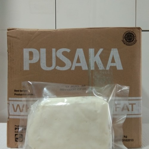 Foto Produk Mentega Putih Pusaka Margarin / White Baker's Fat Repack 500 gram dari Wilson Bird Farm