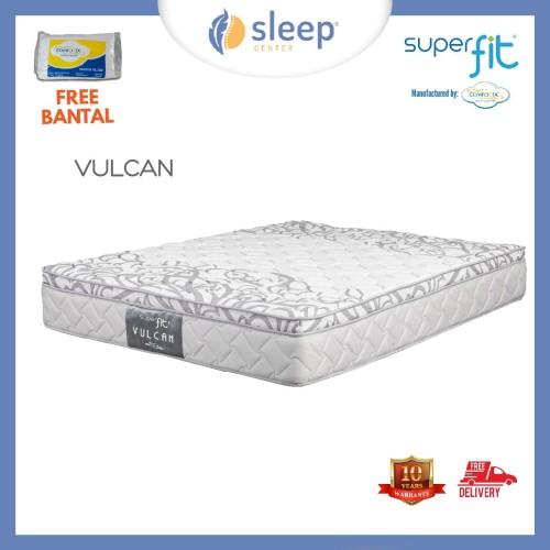 Foto Produk SC SUPERFIT BY COMFORTA VULCAN 100 120 160 180 200 - 100x200 dari SLEEP CENTER