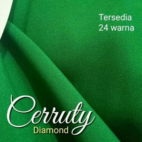 Foto Produk Kain Cerutti Ceruti Diamond Crepe Georgette Meteran Baguss dari Toko Tenna