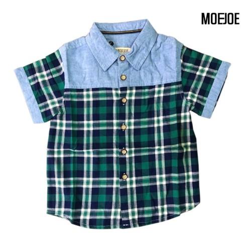Foto Produk MOEJOE Tartan Shirt - Hijau, 4 dari moejoeapparel