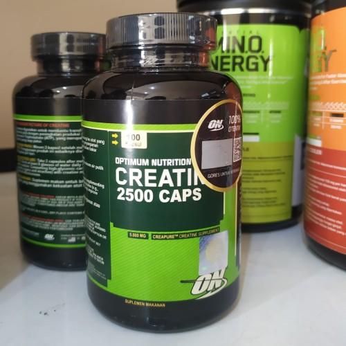 Foto Produk ON Creatine 2500mg 100 Capsul Optimum Nutrition Creatine dari FitnessAddict Suplemen