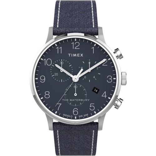 Foto Produk Jam Tangan Pria Timex Waterbury Classic Chrono 40mm TW2T71300 Original dari The Watch Co.