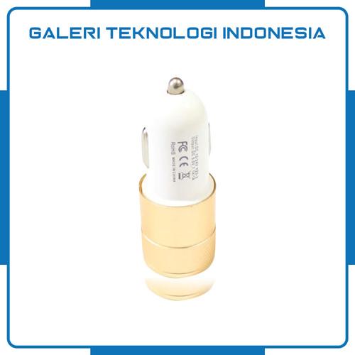 Foto Produk Vyatta Car Charger Charging USB Port 2 Slot 2.1A and 1A dari Galtekindo