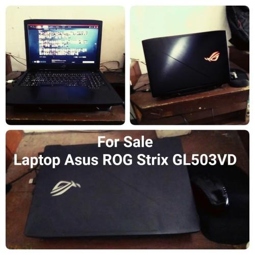 Foto Produk Laptop Asus ROG Strix type GL503VD dari JackWillShop