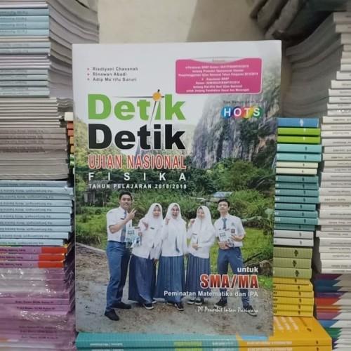 Foto Produk BEST SELLER DETIK DETIK UN FISIKA SMA/MA TAHUN 2018/2019 dari Toko Buku Mata Air