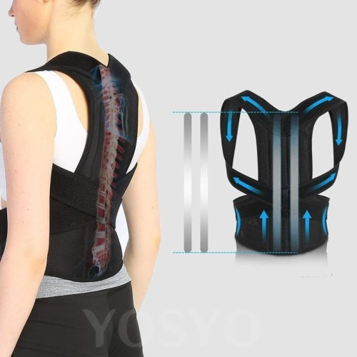 Foto Produk YOSYO Belt Magnetic Terapi Koreksi Postur Punggung Size M - Y11002 dari BudgetGadget