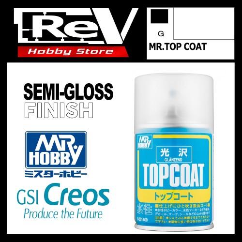 Foto Produk MR HOBBY TOP COAT SEMI GLOSS MR COLOR SPRAY CAN CAT GUNDAM B502 dari RevHobbyStore