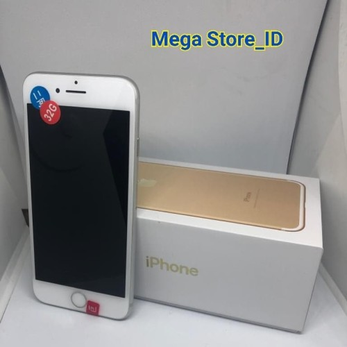 Foto Produk IPHONE 7 PLUS 32GB SEKEN ORIGINAL FULLSET - BLACK MATTE dari MEGA STORE_ID