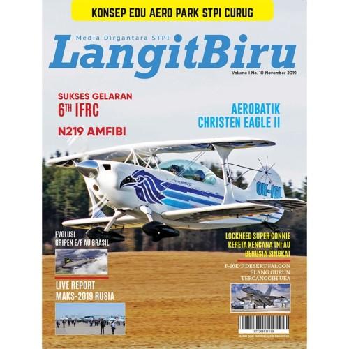 Foto Produk Majalah Langit Biru edisi November 2019 dari Airspace Review