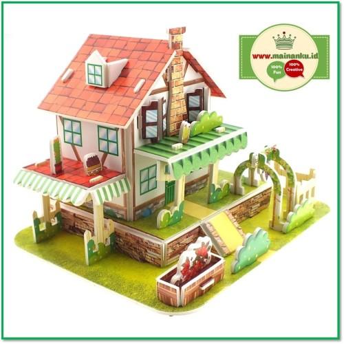 Foto Produk Mini 3D Puzzle FRUIT HOUSE | Kado Anak Sekolah | Hadiah Anak 1690-40 dari Cherish Online