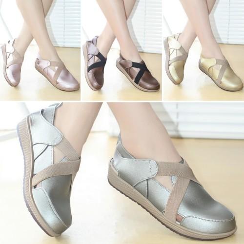 Foto Produk Sepatu Wanita Sneakers Kets Kulit Mulan 2311 dari DETECTOR