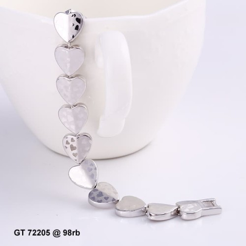 Foto Produk gelang white love 72205 xuping dari Gerai Xuping Jewelry