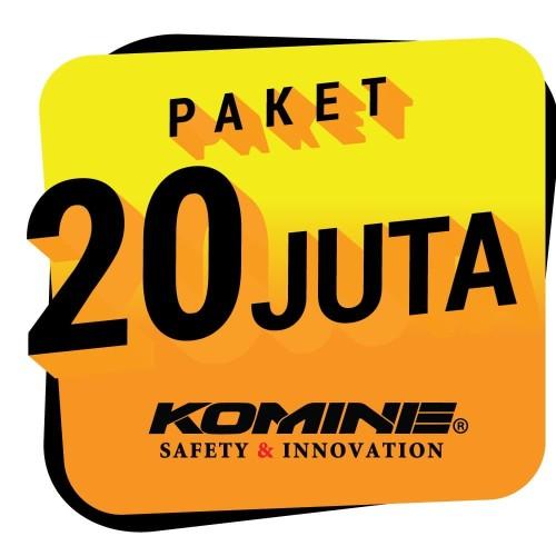 Foto Produk Paket Apparel Motor KOMINE Rp. 20.000.000,- dari Prakarsa Bangun Sarana