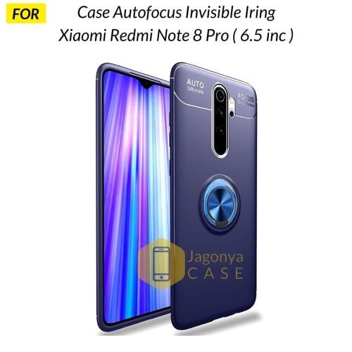 Foto Produk Case Xiaomi Redmi Note 8 PRO Autofocus Invisible Iring Soft Case - Biru dari Jagonya Case