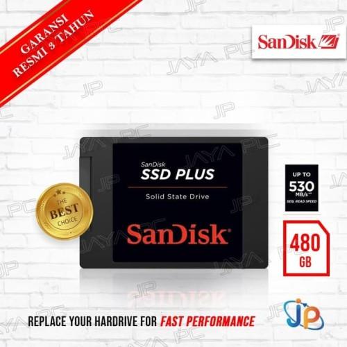 "Foto Produk Sandisk SSD PROMO Plus 480GB Sata 3 - Sandisk SSD 480 GB 2.5"" dari darilynn"