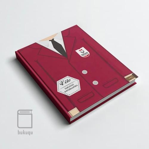Foto Produk Custom Notebook/ High Class Almamater/ Universitas/ Campus - COWOK - P dari darilynn