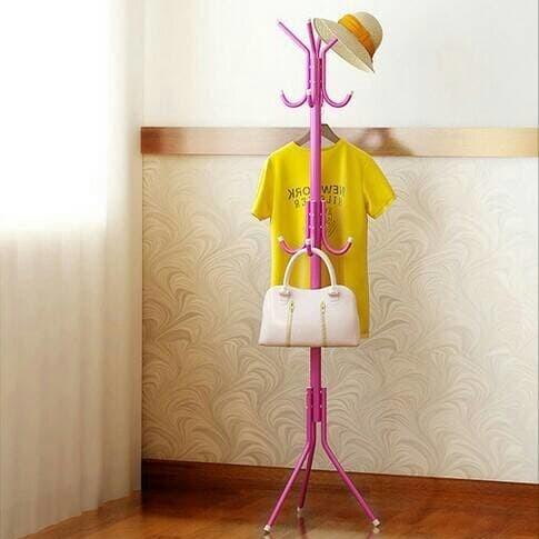 Foto Produk Stand Hanger Top Notch / Gantungan Tiang Berdiri / Hanger Gantungan Ba dari darilynn
