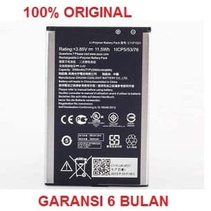 Foto Produk 1 ORIGINAL Superior Class ASUS Battery C11P1501 / Zenfone2 Laser, Zenf dari darilynn