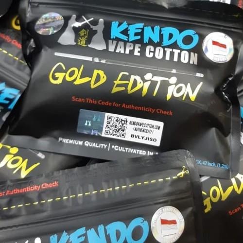 Foto Produk Kendo Vape Sale Cotton Gold Edition Authentic dari darilynn