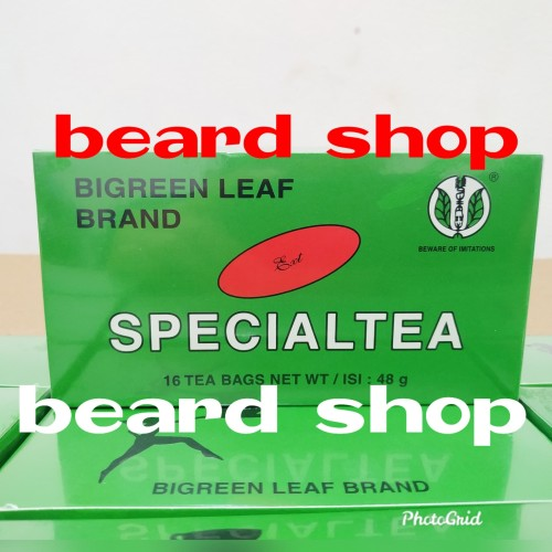 Foto Produk Special Tea Extra Strength BIGREEN LEAF dari beard shop
