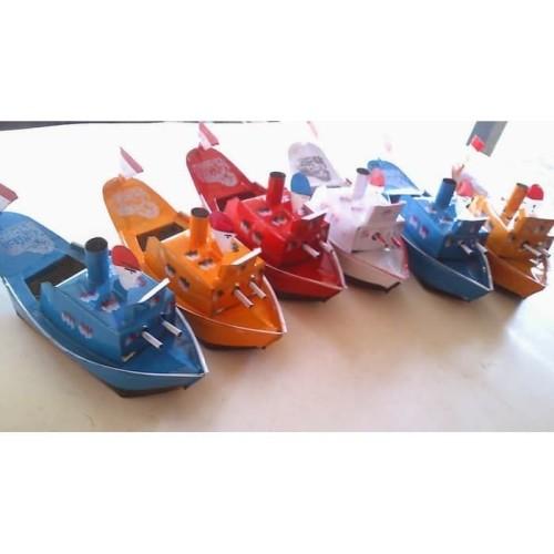 Foto Produk Perahu Klotok. Mainan Tradisional Anak Mainan Perahu dari Sportsite