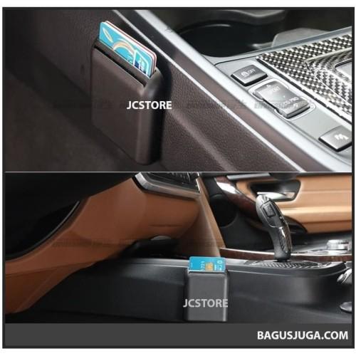 Foto Produk CARDHOLDER E-TOLL CAR ORGANIZER CARD HOLDER STORAGE MOBIL MINI TRAY dari joceystore