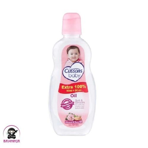 Foto Produk CUSSONS BABY Oil Soft Smooth 50 ml dari BAYININJA