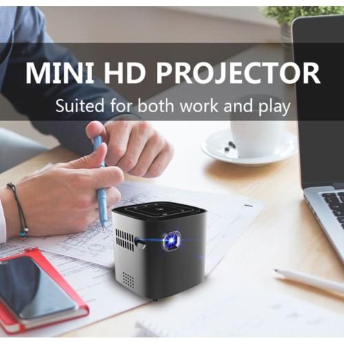 Foto Produk Mini Proyektor/Projector S12 Android Wifi Bluetooth For Full HD 1080P dari Luckystone