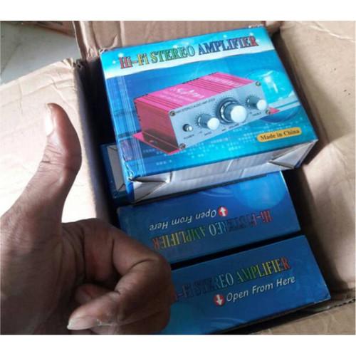Foto Produk Ampli Mini Amplifier Speaker 2 channel 20W Hi-fi Stereo dari Serbakuis Shop