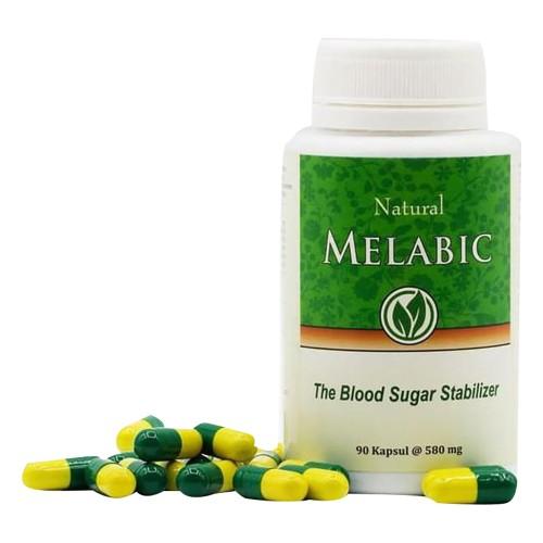 Foto Produk MELABIC 90 Kapsul - Obat Herbal Untuk Diabetes Menstabilkan Gula Darah dari Health Beauty Mall