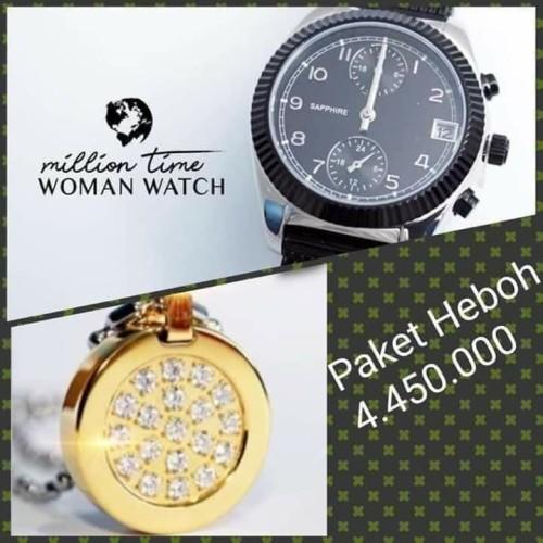 Foto Produk Paket Promo Jam kesehatan dan Kalung Lsw Gold dari cantikjelita5758