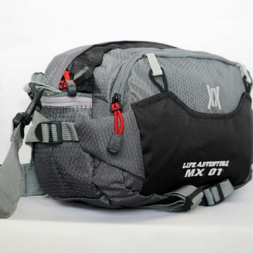 Foto Produk tas selempang adventure outdoor Gearbag - Hitam Abu dari L Habib