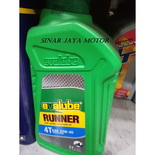 Foto Produk Evalube 4T Running Oli Mesin Motor Bebek Universal Oil 4 Tax 800ml dari Sinar Jaya Motor 2 Duri