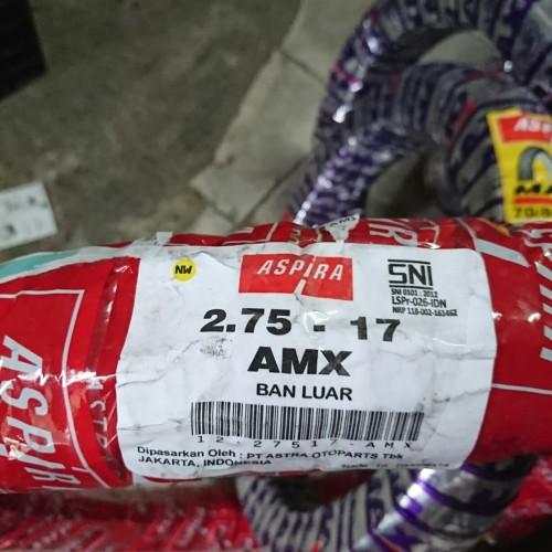 Foto Produk Ban Luar Trail Adventure Aspira AMX 2.75 ring 17 ban kembang tahu dari Battery Accu Aki Bandung