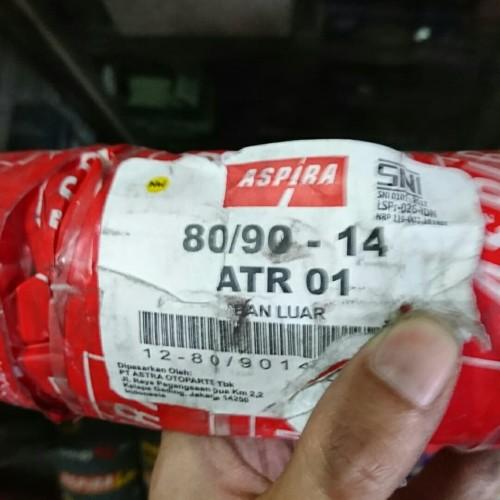 Foto Produk Ban Luar Trail Aspira ATR 01 80/90 ring 14 ban kembang tahu Tube Type dari Battery Accu Aki Bandung