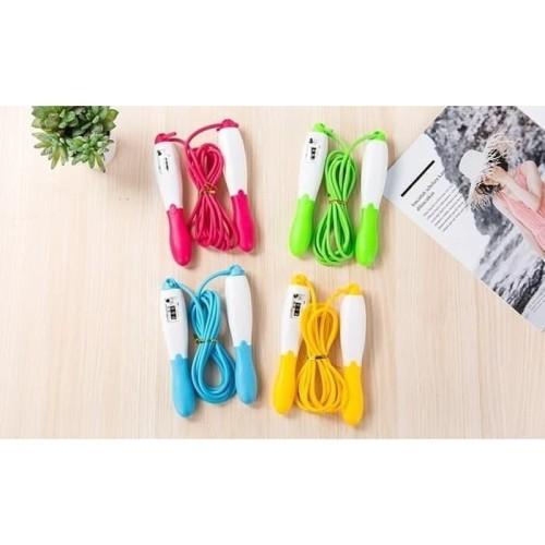 Foto Produk Tali Lompat Skipping Jump Rope ada Counter Tali Lentur Murah dari yanmaklik