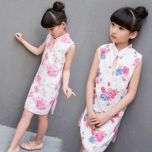 Foto Produk Cheongsam Anak Murah Kostum Baju Imlek Congsam Kids Murah Grosir Imlek dari MadisonShop