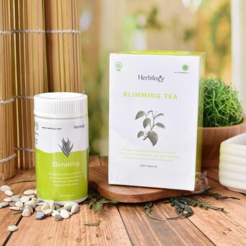 Foto Produk Herbilogy Slimming Package ( Slimming Capsule and Slimming Tea) dari House Of Organix