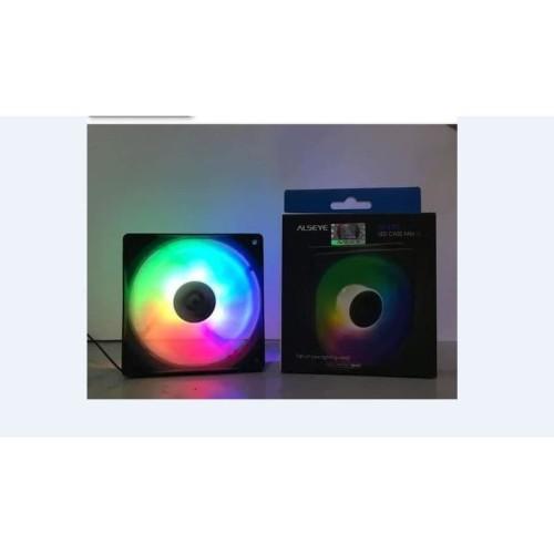 Foto Produk Alseye M-120-MR Auto RGB Fan Casing 12cm dari global aksesoris