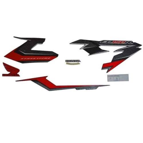 Foto Produk Sticker Body Kanan Black Red – CB150 StreetFire New K15G dari Honda Cengkareng