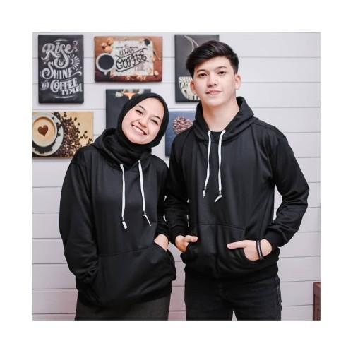 Foto Produk Sweater Couple Murah Hoodie Polos dari Arjuna Jeans