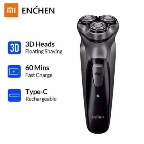 Foto Produk Xiaomi Enchen Blackstone 3D Electric Shaver Alat Cukur Kumis Jenggot dari GADVENTIA Official Store