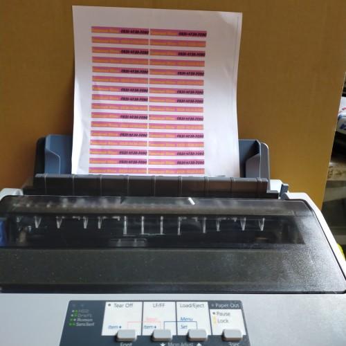 Foto Produk Printer Lx310 bekas garansi printer Epson Lx310 dari famouss store