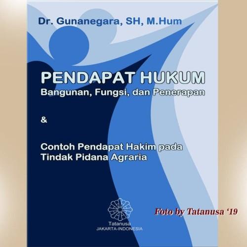 Foto Produk Pendapat Hukum Bangunan Fungsi Dan Penerapan dari Tatanusa